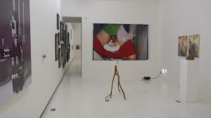 pohled do výstavy Filipa Turka