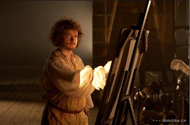 Záběr z filmu Rembrandtova Nočni hlidka