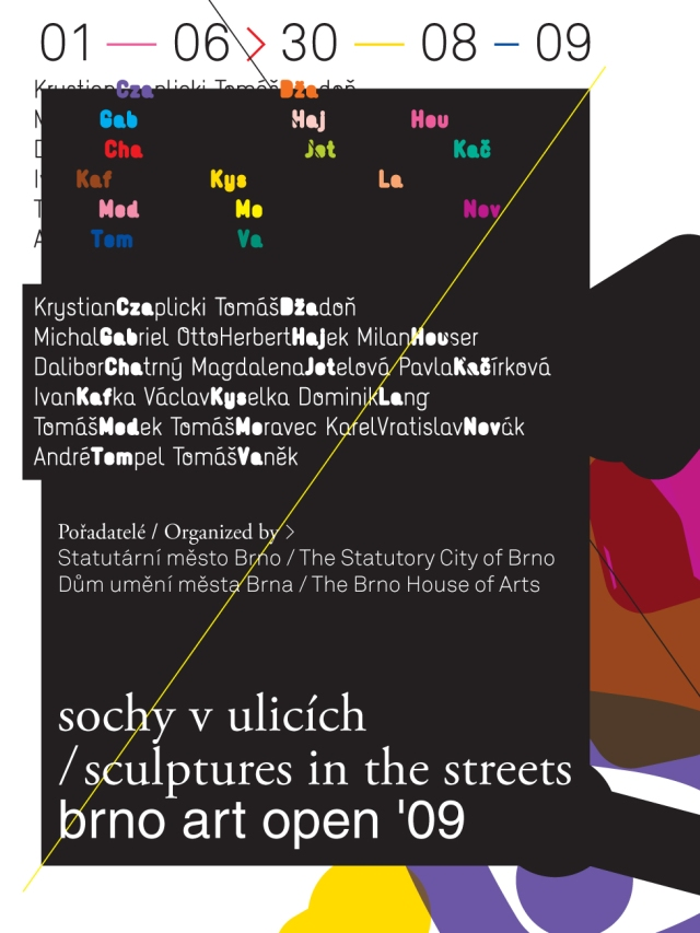 brno art open sochy v ulicich pozvanka