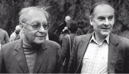 Jindřich Chalupecký spolu s Theodorem Pištěkem