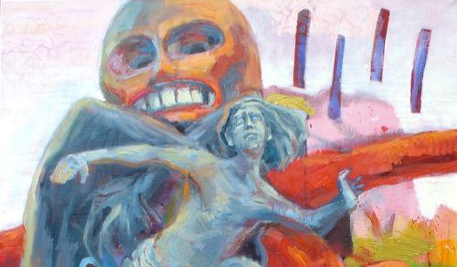 ritualy IV, olej na platne (220x150cm) 2008[1]