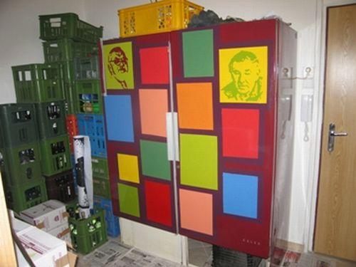 Petr Lysáček Lednička, 2004,syntetika, reálie, variabile sizes, soukromá sbírka
