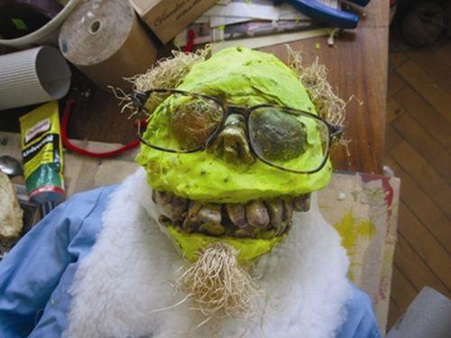 Svatý učitel, 2007, kolektivní dílo, mix media